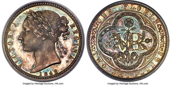 ヘリテージオークション注目コイン(ヴィクトリア銀貨)